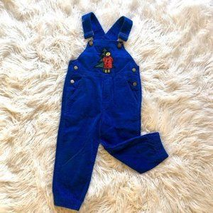 Vintage Christopher Rand overalls 4T holiday